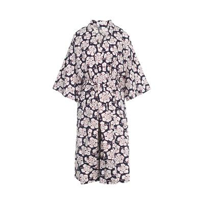 oriental mood robe black
